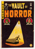 Golden Age (1938-1955):Horror, Vault of Horror #16 (EC, 1950) Condition: VG....