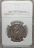 Seated Half Dollars: , 1890 50C Fine 15 NGC. NGC Census: (1/70). PCGS Population (0/121). Mintage: 12,000. Numismedia Wsl. Price for problem free ...