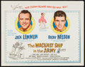"""Movie Posters:Comedy, The Wackiest Ship in the Army and Other Lot (Columbia, 1961). HalfSheets (2) (22"""" X 28""""). Comedy.. ... (Total: 2 Items)"""