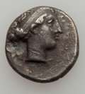 Ancients:Ancient Lots  , Ancients: CAMPANIA. Neapolis. Ca. 300-275 BC. Lot of 2 ARstaters. ... (Total: 2 coins)