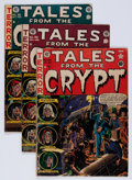 Golden Age (1938-1955):Horror, Tales From the Crypt #26, 38, and 39 Group (EC, 1951-54)....(Total: 3 Comic Books)