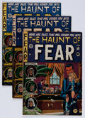 Golden Age (1938-1955):Horror, Haunt of Fear #6, 11, 12, and 18 Group (EC, 1951-52) Condition:Average VG-.... (Total: 4 Comic Books)