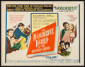 """Movie Posters:Fantasy, The Wonderful World of the Brothers Grimm (MGM, 1962). Half Sheet (22"""" X 28""""). Fantasy.. ..."""
