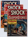 Golden Age (1938-1955):Horror, Shock SuspenStories #4 and 8-11 Group (EC, 1952-53) Condition:Average VG+.... (Total: 5 Comic Books)