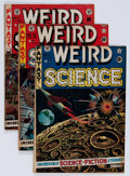 Golden Age (1938-1955):Science Fiction, Weird Science Group (EC, 1952-54) Condition: Average VG+....(Total: 8 Comic Books)