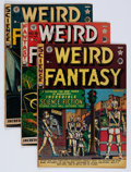 Golden Age (1938-1955):Science Fiction, Weird Fantasy Group (EC, 1951-53) Condition: Average GD/VG.... (Total: 12 Comic Books)
