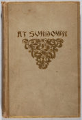 Books:Literature Pre-1900, John Greenleaf Whittier. At Sundown. Houghton, Mifflin,1893. Later edition. Rubbing and light soiling to cloth. Fro...