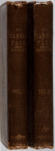 Books:Literature Pre-1900, Nathaniel Hawthorne. The Marble Faun. Vol. I & II.Ticknor and Fields, 1860. First American edition, first print...(Total: 2 Items)