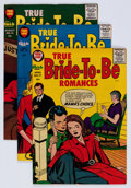 Silver Age (1956-1969):Romance, True Bride-to-Be Romances File Copies Group (Harvey, 1956-57) Condition: Average VF/NM.... (Total: 10 Comic Books)