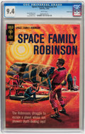 Silver Age (1956-1969):Science Fiction, Space Family Robinson #14 Pacific Coast pedigree (Gold Key, 1965) CGC NM 9.4 White pages....