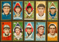 Baseball Cards:Lots, 1911 T205 Gold Border Collection (10). ...