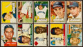 Baseball Cards:Lots, 1952-1956 Topps Baseball Collection (34) With HoFers. ...