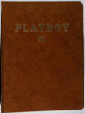 Books:Periodicals, [Playboy]. Continuous Run of All 12 Issues of Playboy for1959 in Publisher's Binder. General minor toning and w...