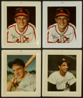 Baseball Collectibles:Others, 1952 Wheaties Tin Trays - Lot of 4. ...
