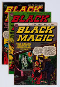 Golden Age (1938-1955):Horror, Black Magic Group (Prize, 1952-54) Condition: Average VG....(Total: 6 Comic Books)