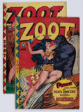 Golden Age (1938-1955):Funny Animal, Zoot Comics #15 and 16 Group (Fox Features Syndicate, 1948)Condition: Average VG+....