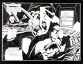Original Comic Art:Splash Pages, Mike Wieringo and Jose Marzan, Jr. World's Finest: Our Worlds atWar #1 Splash Page 2 and 3 Original Art (DC, 2001...