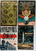 Books:Science Fiction & Fantasy, C. M. Kornbluth. Group of Four Book Club Editions, One Signed. Doubleday, 1952-1976. Beyond the Moon is signed. Very goo... (Total: 4 Items)