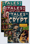 Golden Age (1938-1955):Horror, Tales From the Crypt Group (EC, 1954-55) Condition: Average VG+....(Total: 4 Comic Books)
