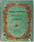 Books:Children's Books, Tasha Tudor. Favorite Stories. Lippincott, 1965. Firstedition, first printing. Toning and staining to boards and dj...
