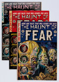 Golden Age (1938-1955):Horror, Haunt of Fear Group (EC, 1953-54) Condition: Average VG+....(Total: 5 Comic Books)