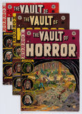 Golden Age (1938-1955):Horror, Vault of Horror Group (EC, 1952-55) Condition: Average VG-....(Total: 5 Comic Books)