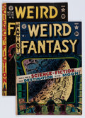 Golden Age (1938-1955):Science Fiction, Weird Fantasy #15 and 16 Group (EC, 1950) Condition: AverageVG-.... (Total: 2 Comic Books)