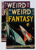 Golden Age (1938-1955):Science Fiction, Weird Fantasy #9 and 12 Group (EC, 1951-52) Condition: AverageVG.... (Total: 2 Comic Books)