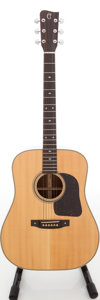 Musical Instruments:Acoustic Guitars, 1980s Takamine F-362S Natural Acoustic Guitar, Serial #80090738....