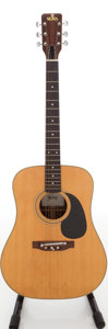 Musical Instruments:Acoustic Guitars, 1970s Sigma DR-7 Natural Acoustic Guitar, Serial # 14185....