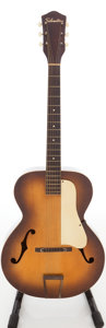 Musical Instruments:Acoustic Guitars, 1960s Silvertone Model N-3 Sunburst Archtop Acoustic Guitar....
