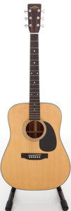 Musical Instruments:Acoustic Guitars, 1980s Sigma DM-5 Natural Acoustic Guitar, Serial # S24387....