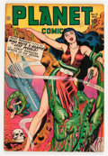 Golden Age (1938-1955):Science Fiction, Planet Comics #51 (Fiction House, 1947) Condition: VG+....