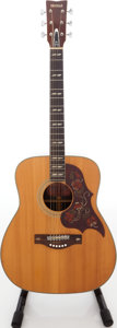 Musical Instruments:Acoustic Guitars, 1970s Yamaha FG-300 Red Label Natural Acoustic Guitar....