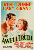 "Movie Posters:Comedy, The Awful Truth (Columbia, 1937). One Sheet (27"" X 41"") Style B....."