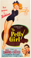 "Movie Posters:Comedy, The Petty Girl (Columbia, 1950). Three Sheet (41"" X 79"").. ..."