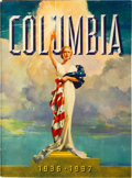 "Movie Posters:Miscellaneous, Columbia Exhibitor Book (Columbia, 1936-1937). Softcover ExhibitorBook (Multiple Pages, 11.5"" X 15.5"").. ..."