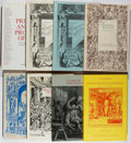Books:Books about Books, [Books About Books]. Group of Eight Bookseller Catalogs from Interlibrum Vaduz. Very good or better in publisher's w... (Total: 8 Items)