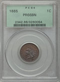 Proof Indian Cents, 1885 1C PR66 Brown PCGS. Snow-PR3....