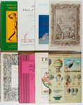 Books:Books about Books, [Books About Books]. Group of Eight Bookseller Catalogs from Interlibrum Vaduz. Very good or better in publisher... (Total: 8 Items)