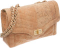 Luxury Accessories:Bags, Chanel Beige Cork Leather Flap Bag with Gold Hardware. ...