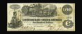 "Confederate Notes:1862 Issues, T39 $100 1862. A highly collectible ""Mobile Savings Bank"" blackrubber validation stamping is found on this lightly handled ..."