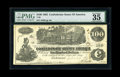 Confederate Notes:1862 Issues, T39 $100 1862 and a T40 $100 1862. These popular and exceptionallybright notes are nearly free of problems. Though two minu...(Total: 2 notes)