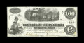 Confederate Notes:1862 Issues, T40 $100 1862. This C-note carries a neat interest paid stamp byHenry Savage, Depositary in Wilmington, NC. A slight paper ...
