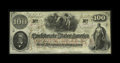 Confederate Notes:1862 Issues, T41 $100 1862. This interesting advertising note is an authenticT41 with this printing on the back: --Write To--, J.H. Chil...