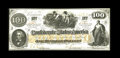 Confederate Notes:1862 Issues, CT41/316A Counterfeit $100 1862. A beautiful counterfeit in aseldom encountered state of preservation for such items. Cho...