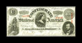 Confederate Notes:1863 Issues, T56 $100 1863. Fully framed is this bright note. A pre-printingpaper crinkle is noticed. Choice Crisp Uncirculated....