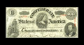 Confederate Notes:1863 Issues, T56 PF-2 $100 1863. This C-note is truly beautiful with its qualitypaper, sharp edges, and embossing. Choice Crisp Uncirc...