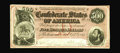 Confederate Notes:1864 Issues, T64 $500 1864. Attractive is this embossed $500 with the dark red undertint. Choice Crisp Uncirculated....