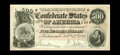 Confederate Notes:1864 Issues, T64 PF-1 $500 1864. Embossing is strong on this $500 with a small corner fold. Choice About Uncirculated....